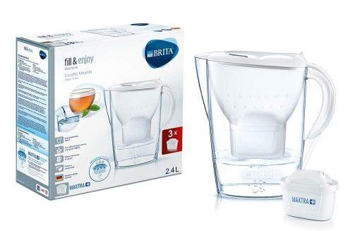 BRITA Kit Marella con 3 filtri MAXTRA - esistere bene - depuratori acqua
