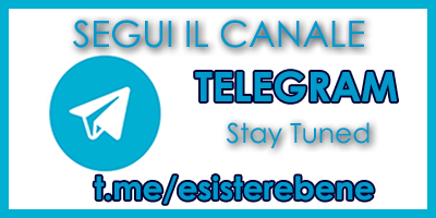 canale telegram esisterebene