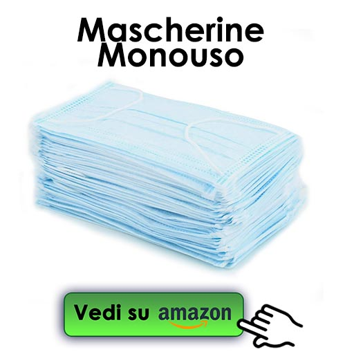 mascherine monouso su amazon