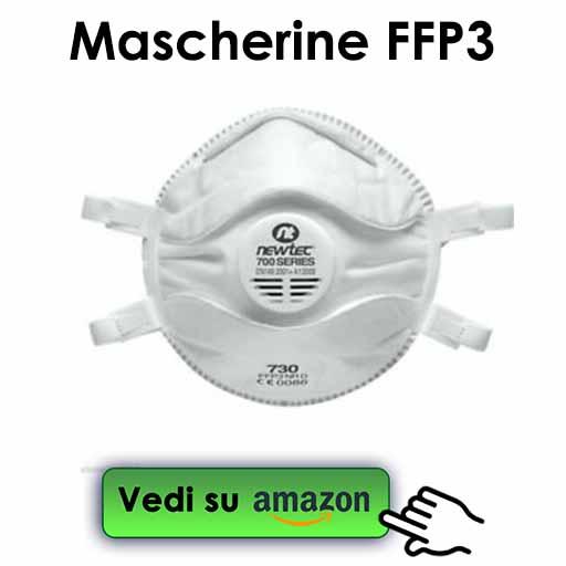 mascherine antivirus ffp3