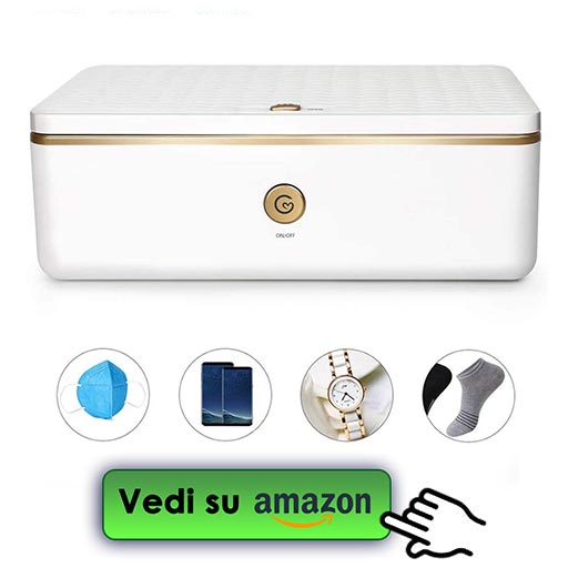 Deeabo Box Sterilizzatore Uv Box Disinfezione