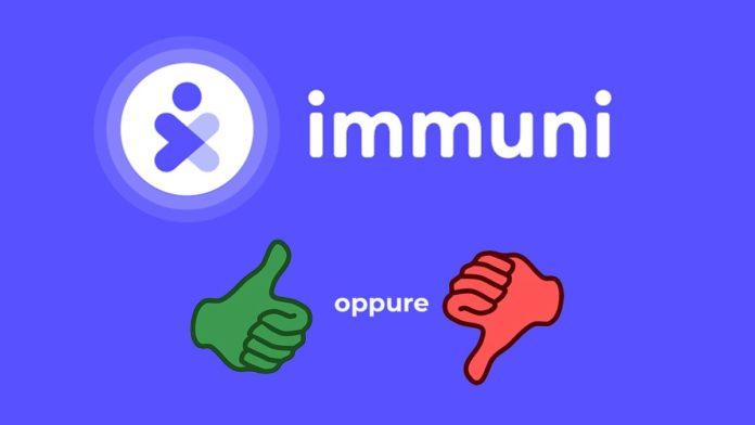 app immuni recensione e guida