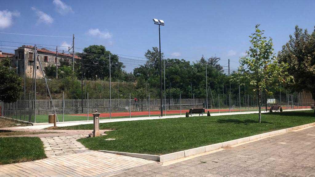 Villa comunale Policastro Bussentino Campo da Tennis